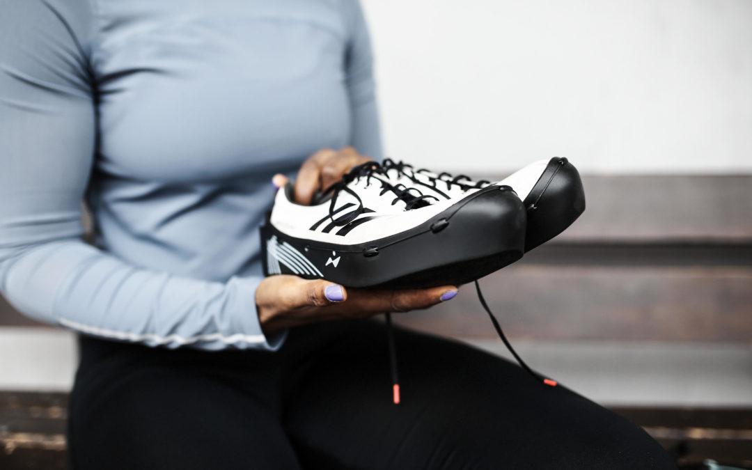 Keyena la première protection pour pointes d'athlétisme
