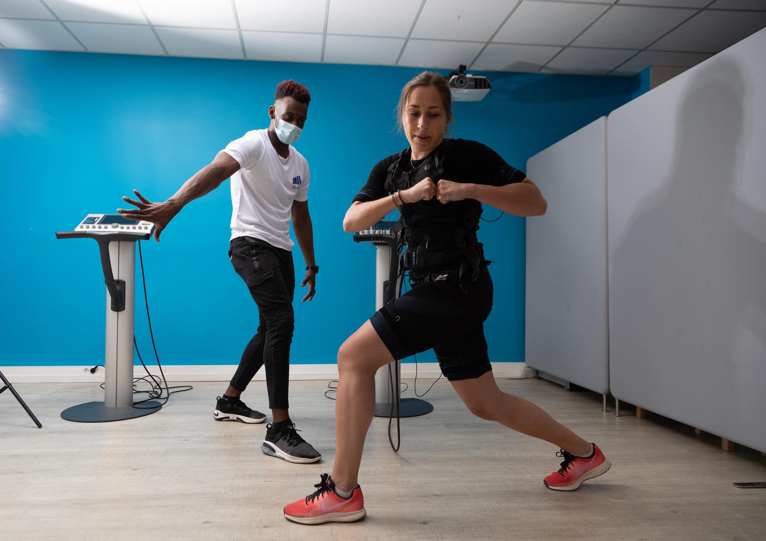 salle d'EMS et Miha Bodytec à Lyon